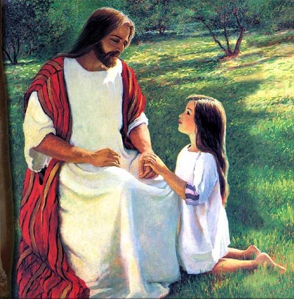 CONSÉCRATION à JÉSUS avec mon coeur d'enfant