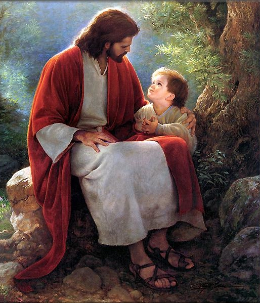 Jesus et garçon