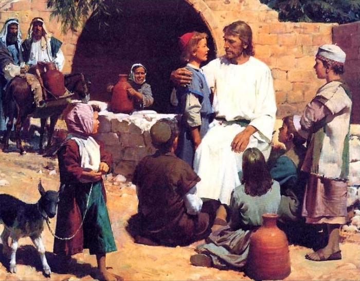 Jesus  et les petits