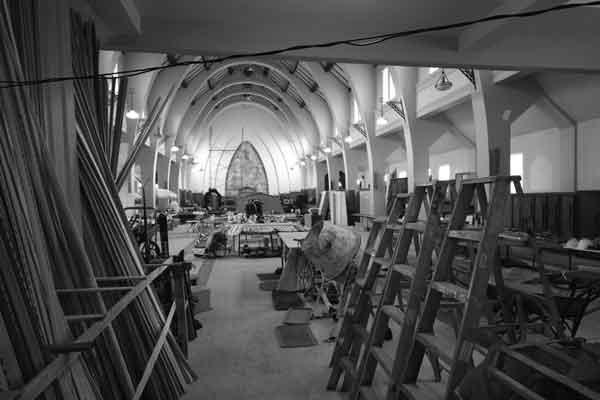 Église fermé catholique